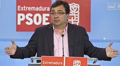 PSOE, Junta, fernandez vara, enchufados