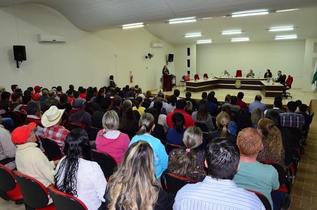 Audiência pública contra o fechamento das zonas eleitorais