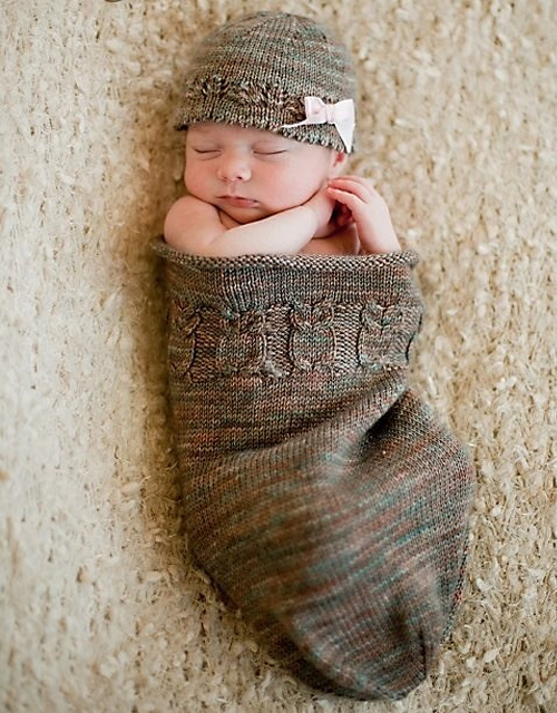 Owlie Sleep Sack - Free Pattern