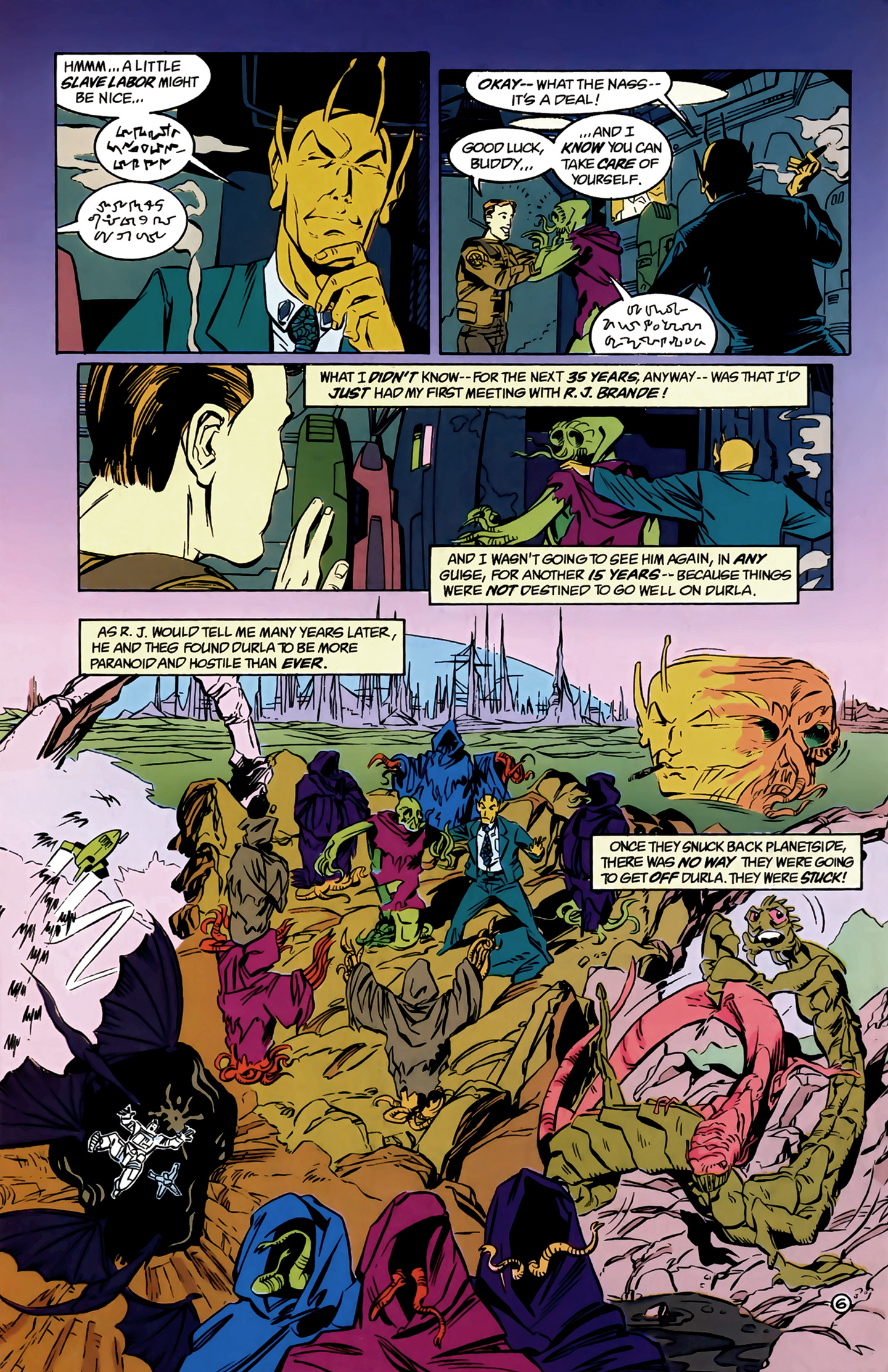Legion of Super-Heroes (1989) 8 Page 6