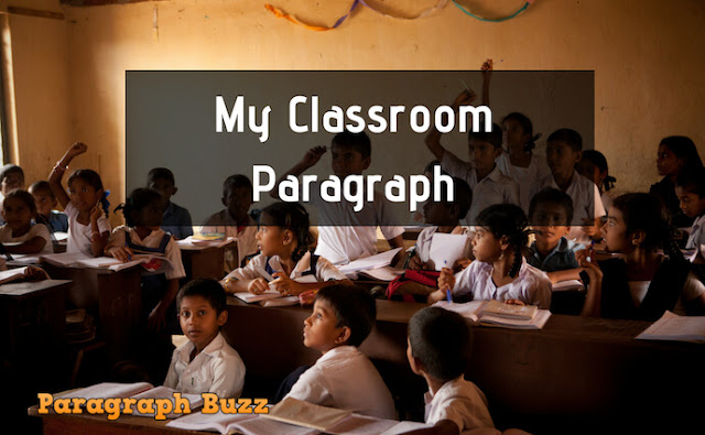 My Classroom paragraph