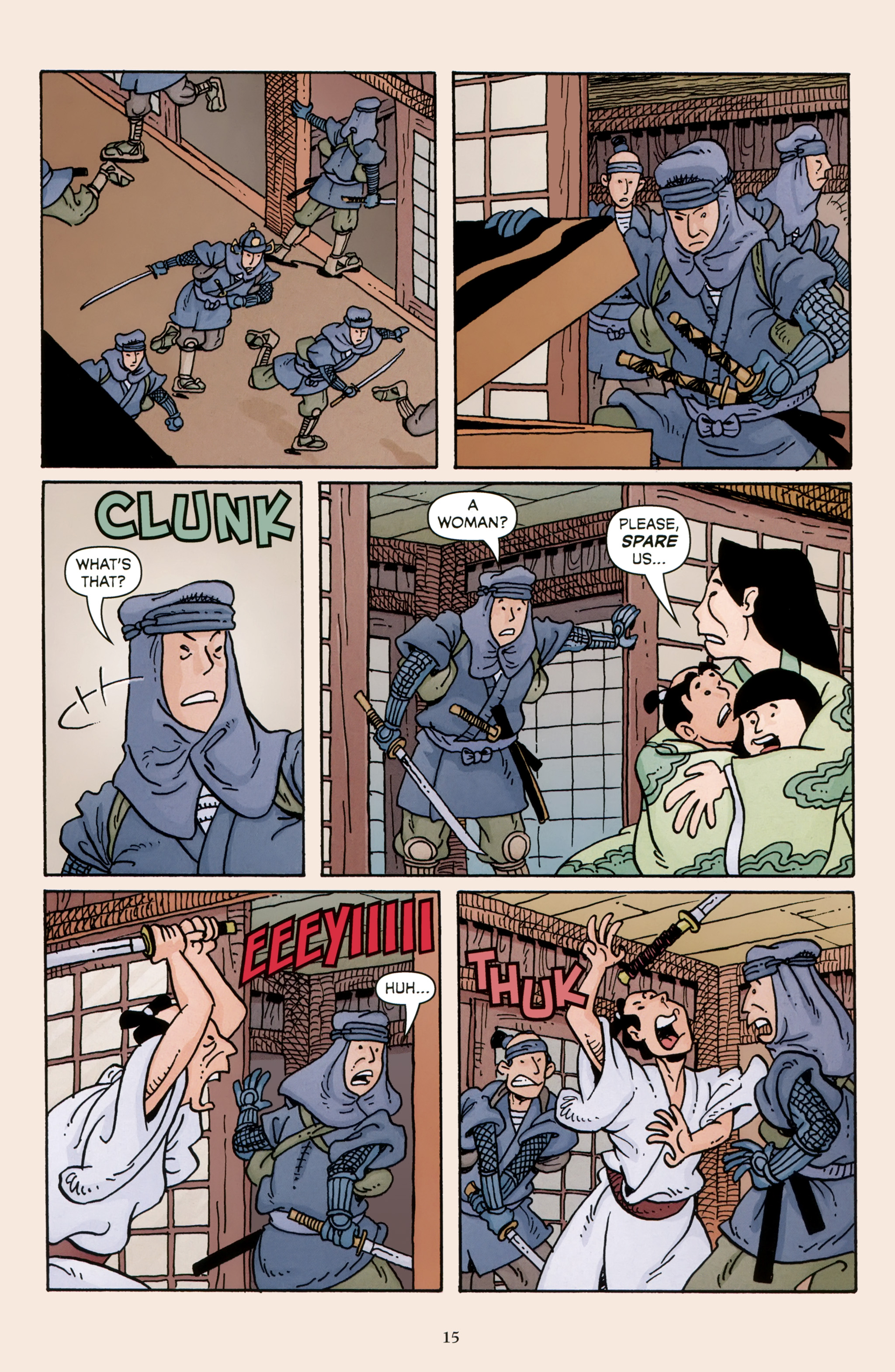 Read online 47 Ronin comic -  Issue #5 - 17