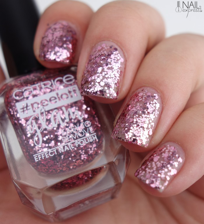 Catrice-01 Stress does not go well with my polish_#peeloff glam_swatch
