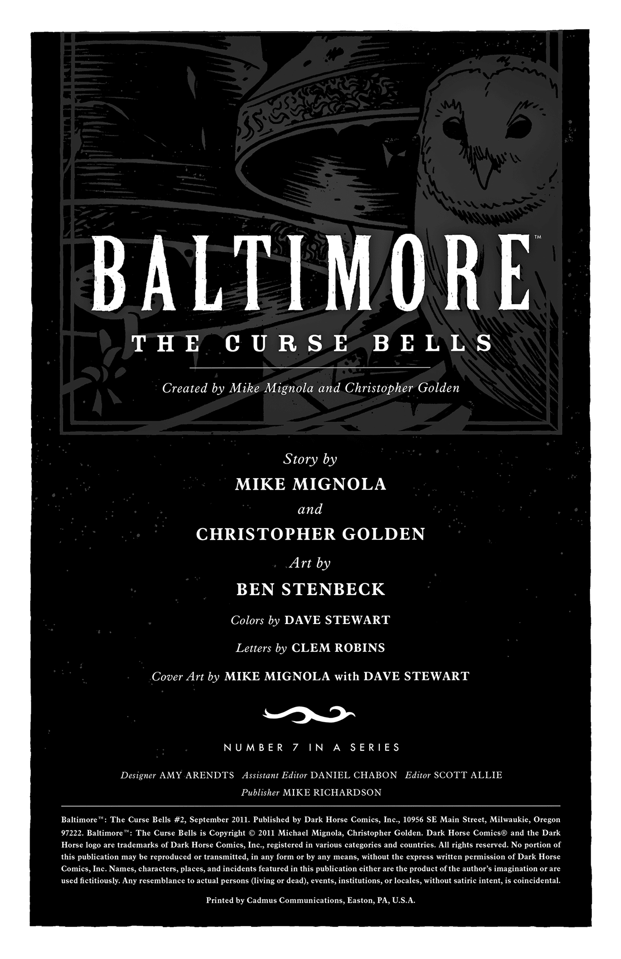 Read online Baltimore: The Curse Bells comic -  Issue #2 - 2