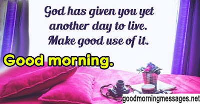 Good morning god bless messages