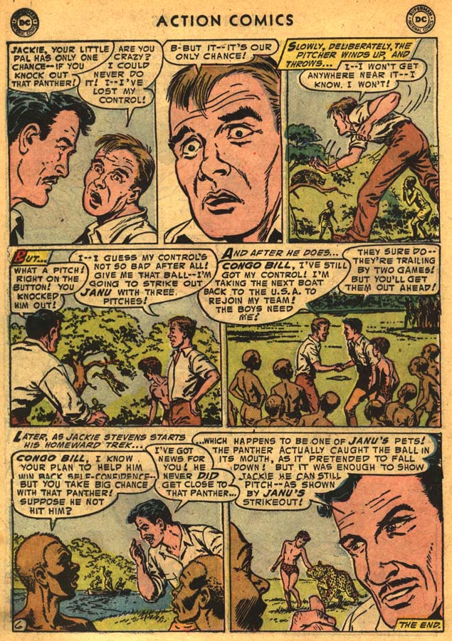 Read online Action Comics (1938) comic -  Issue #201 - 22