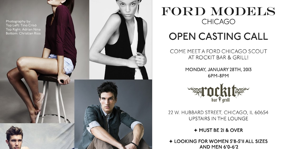 Ford Model Chicago Open Call – Seven Modified 2019 Ford