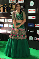 Nandita Swetha in a tight Green Choli Ghagra at IIFA Utsavam Awards March 2017 ~ 055.JPG