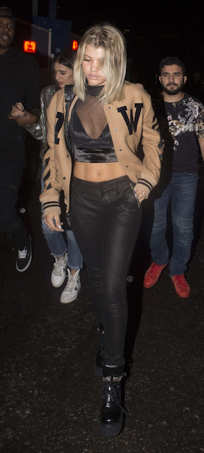 Sofia Richie – Leaves Tape Night Club in London