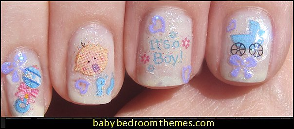Decorating Theme Bedrooms Maries Manor Baby Nail Art Baby