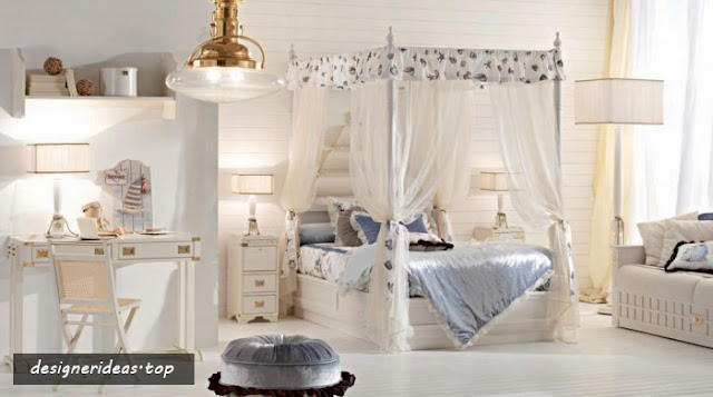 10 Girls Bedroom Designs, Soft and Smooth Design