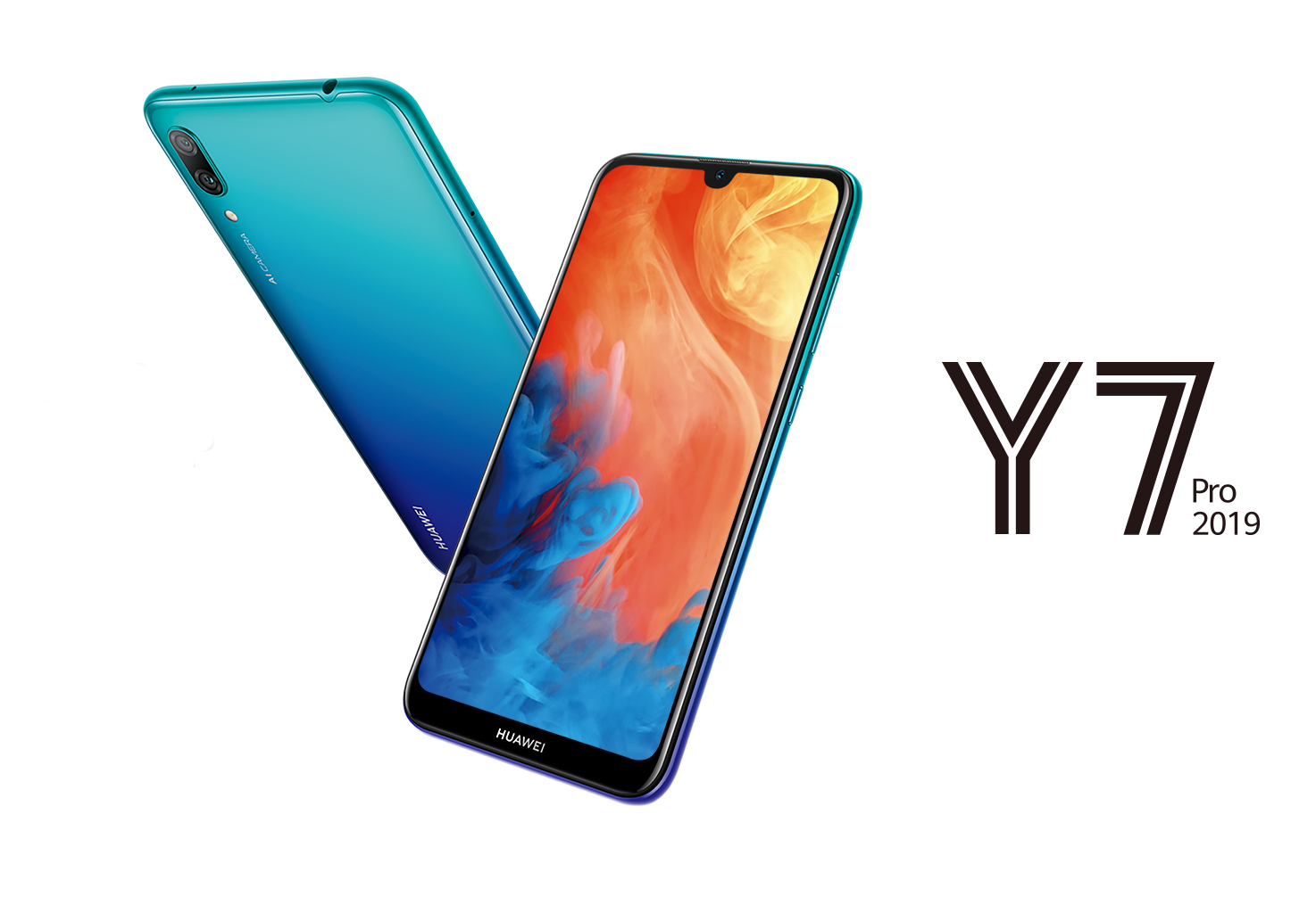 Huawei Y7 Pro 2019 Launched with 4000mAh Battery, Waterdrop