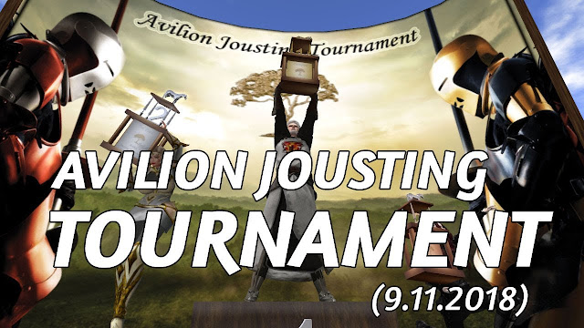 AVILION JOUSTING TOURNAMENT In Second Life (9.12.2018)