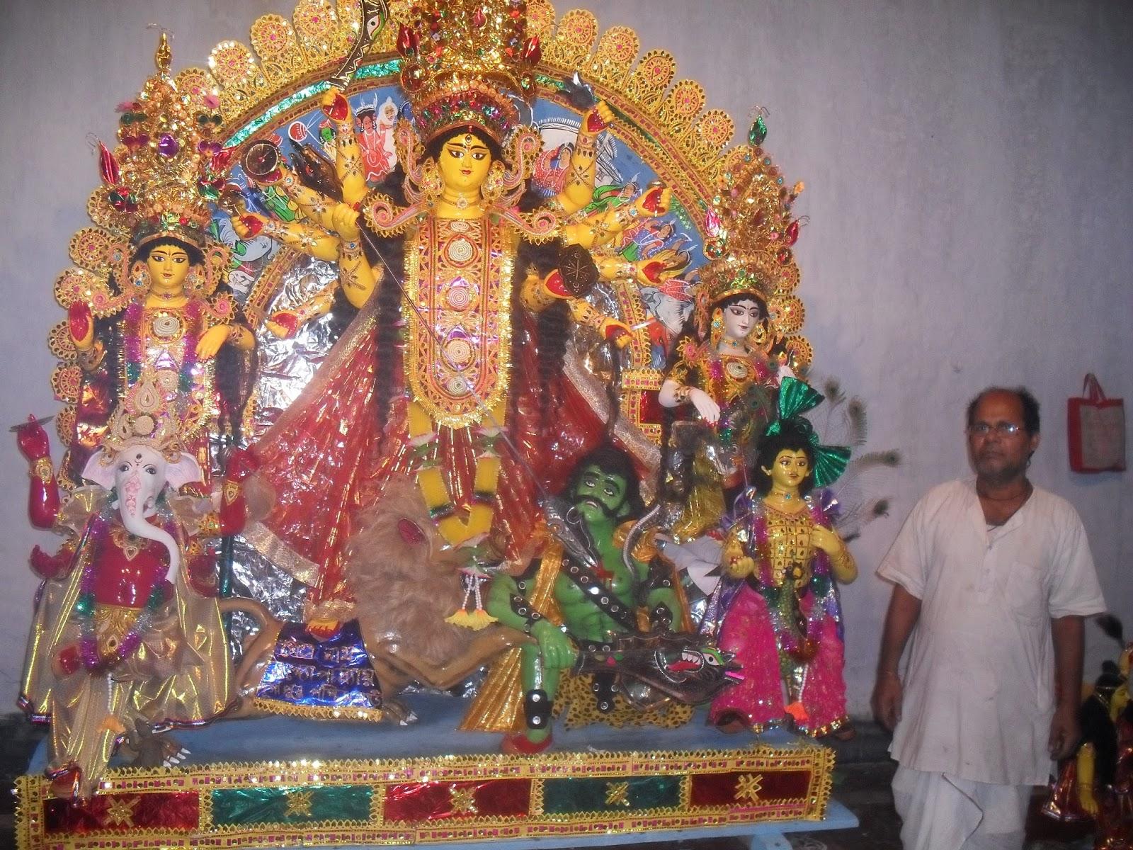 Bonedi Barir Durga Puja: Durgapur Paschim Bari, Jaynagar