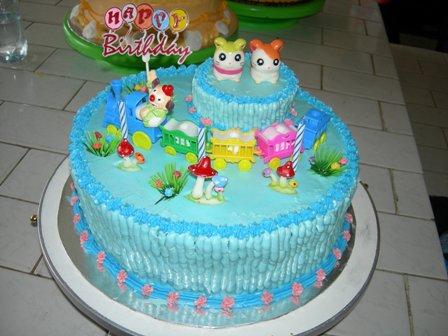 Cake Decoration Tart Part 1