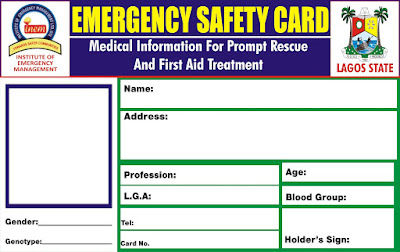 Image result for NAFAP to introduce emergency safety card