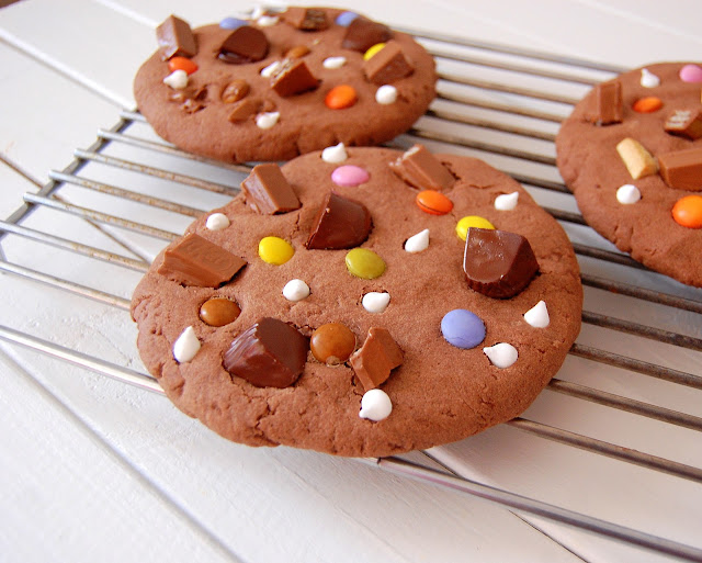Cookies De Choco Con Toooodo.