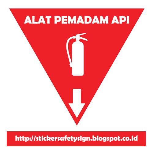Www Apar: Pesan Sticker Safety Sign