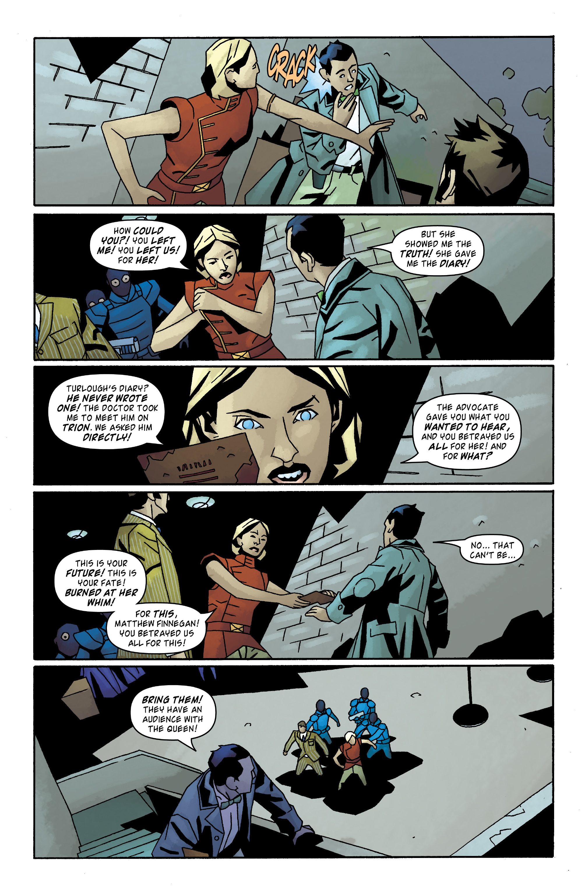 Read online Doctor Who: The Tenth Doctor Archives comic -  Issue #31 - 26