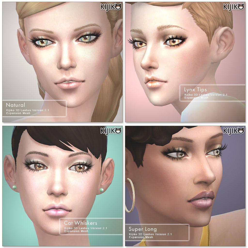 My Sims 4 Blog: Gelato Skin - A Non-Default Skin Overlay