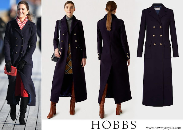 Kate Middleton wore Hobbs London Bianca coat