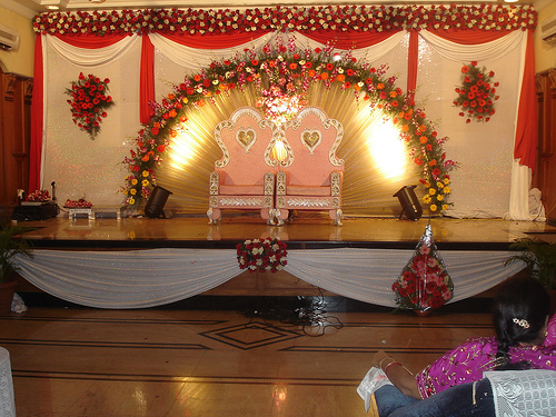 Wallpaper Backgrounds: Indian Wedding Stage Decoration