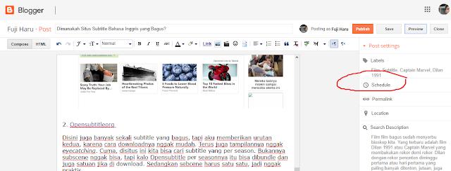 Cara Upload Blog Otomatis
