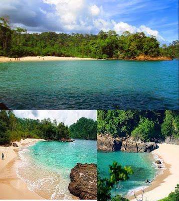 Pantai Teluk Hijau Eksotis