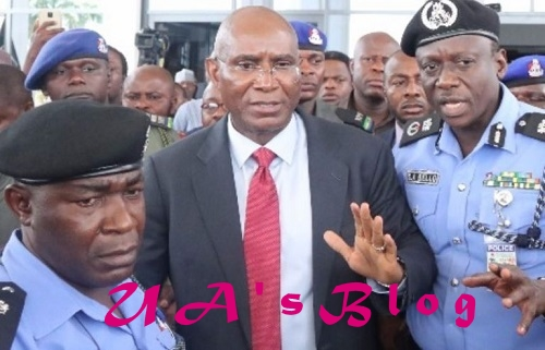 Omo-Agege says he has left police custody, denies invading senate with thugs