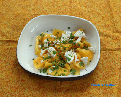 Carole's Chatter: Mango & Goat's Cheese Delight