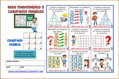 Descubre el número, El número que falta,¿Cuál es el número que falta?, Retos matemáticos, Desafíos matemáticos, Problemas matemáticos