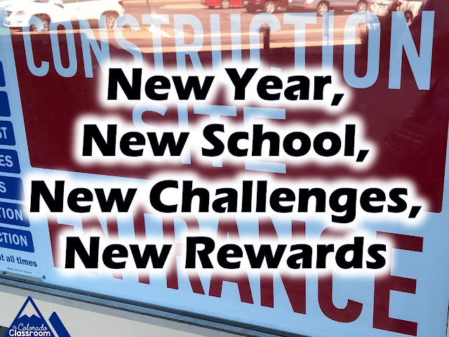 New Year, New School, New Challenges, New Rewards