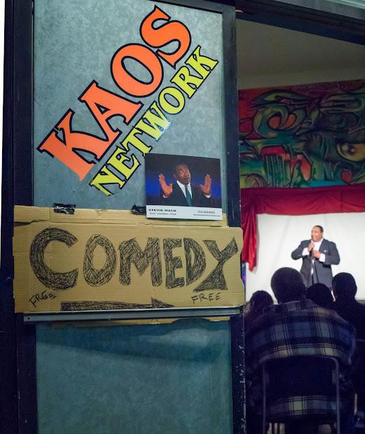 Comedian Stevie Mack Leimert Park Art Walk Comedy Show Honors Black History Month