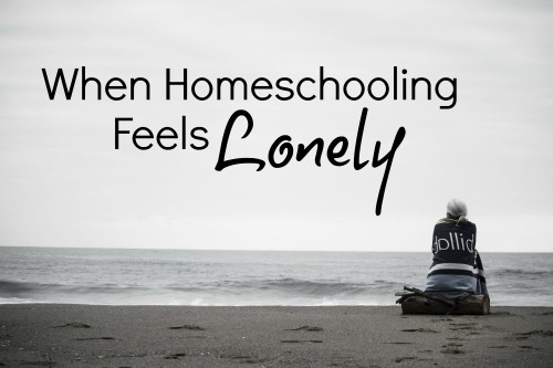 When Homeschooling Feels Lonely-One Mother's Story