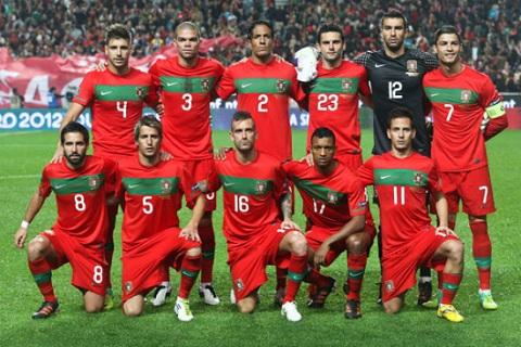 Đội tuyển Bồ Đào Nha tham dự Vòng chung kết EURO 2016.