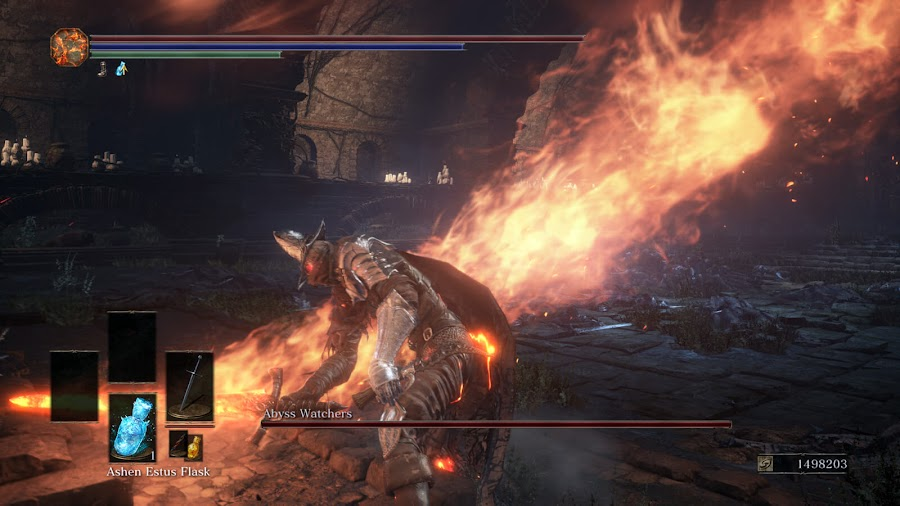 dark souls 3 forces of annihilation mod abyss watchers