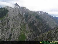 Vista de la Canal de Piedra Bellida desde Trea