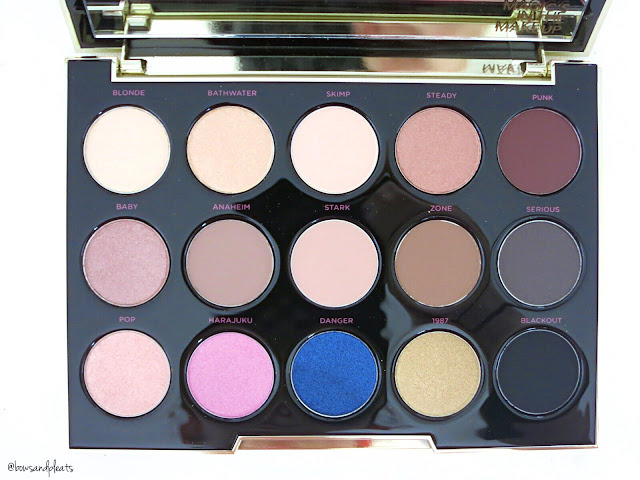 Urban Decay Cosmetics x Gwen Stefani Eyeshadow Palette Review