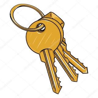 Molho de chaves encontrado