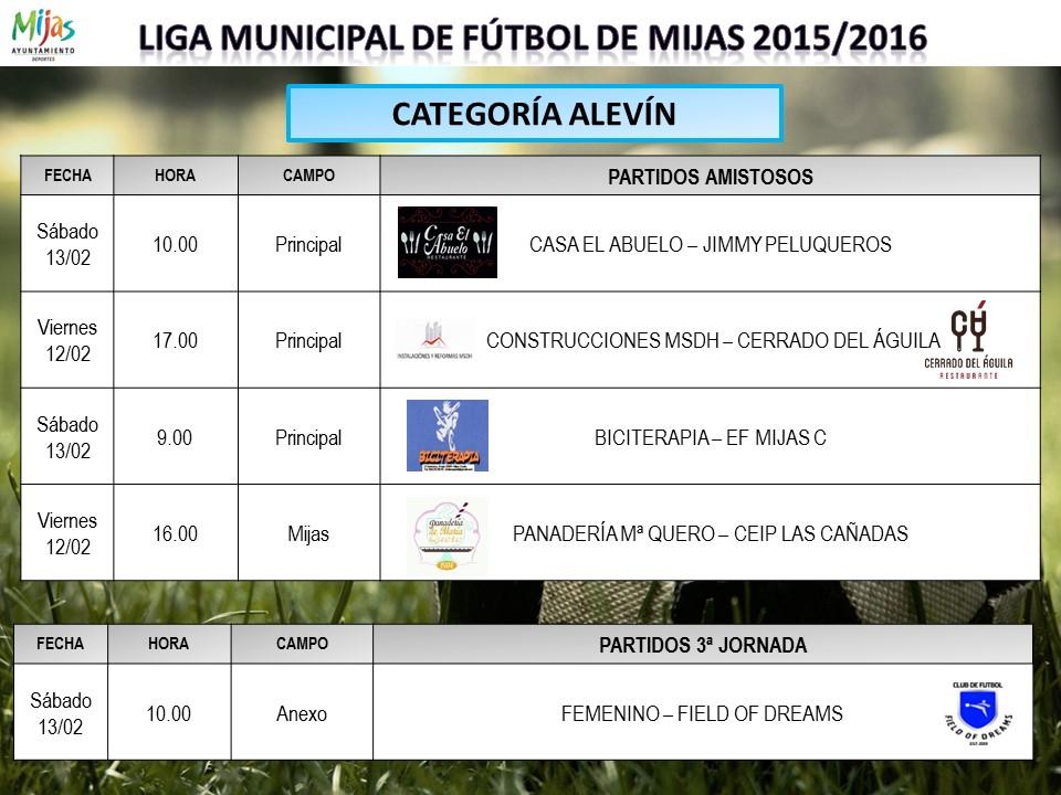 Horarios 10 jornada liga municipal for Liga municipal marca