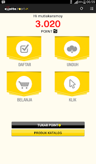 Belanja online di Excite Point