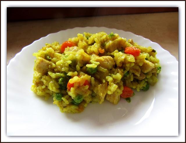 Ryż z Kurczakiem i Warzywami