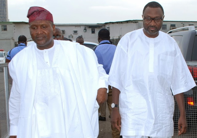dangote otedola best friends