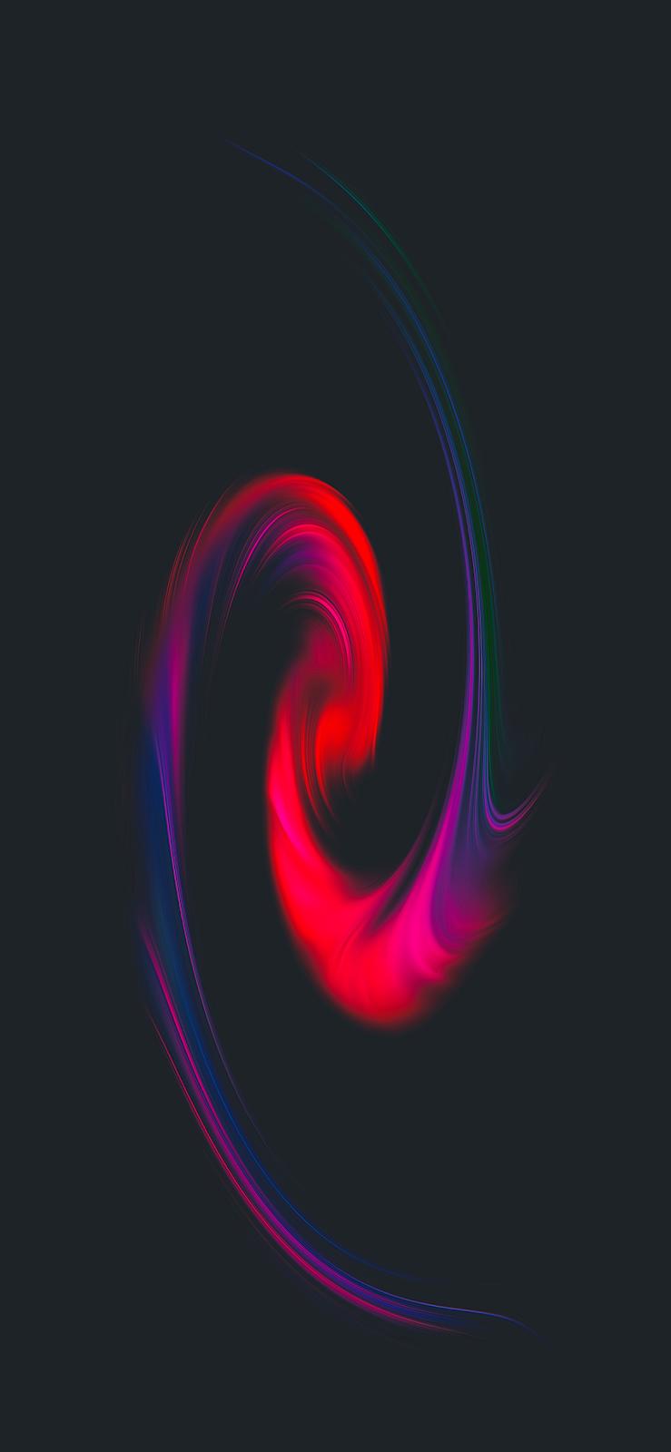 Black Fluid (iPhone X)