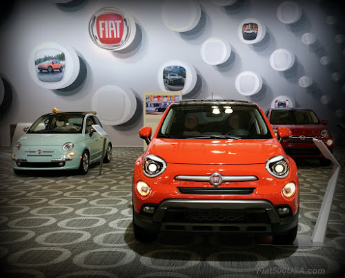 Fiat 500X at 2017 New York Auto Show