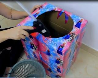 Cómo hacer un microondas y un lavarropas de cartón