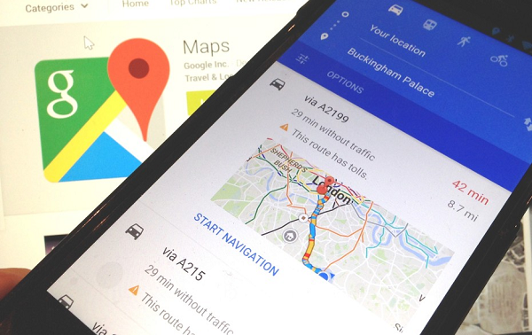 Google maps v9.47 APK Update with New Redesigned Look and New Features.