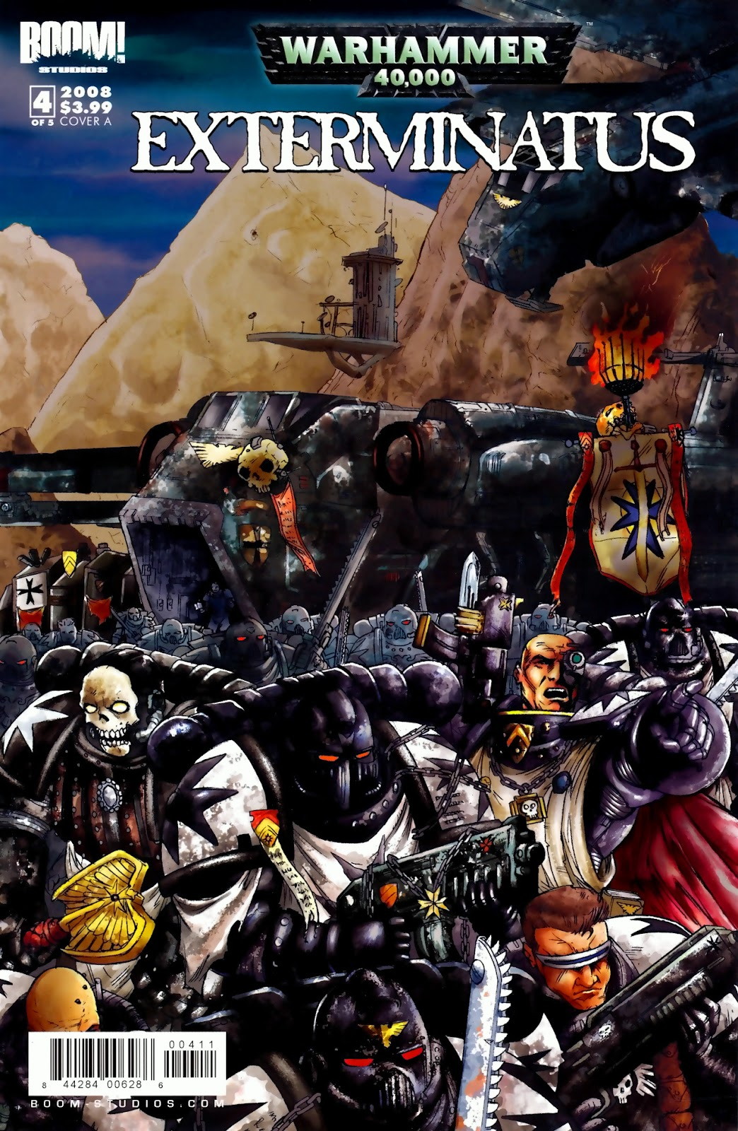 Warhammer 40,000: Exterminatus issue 4 - Page 1
