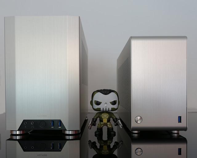 NCASE M1 vs DAN A4-SFX comparativa tamaño cajas