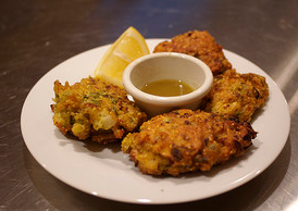 Curried Cassava Fritters